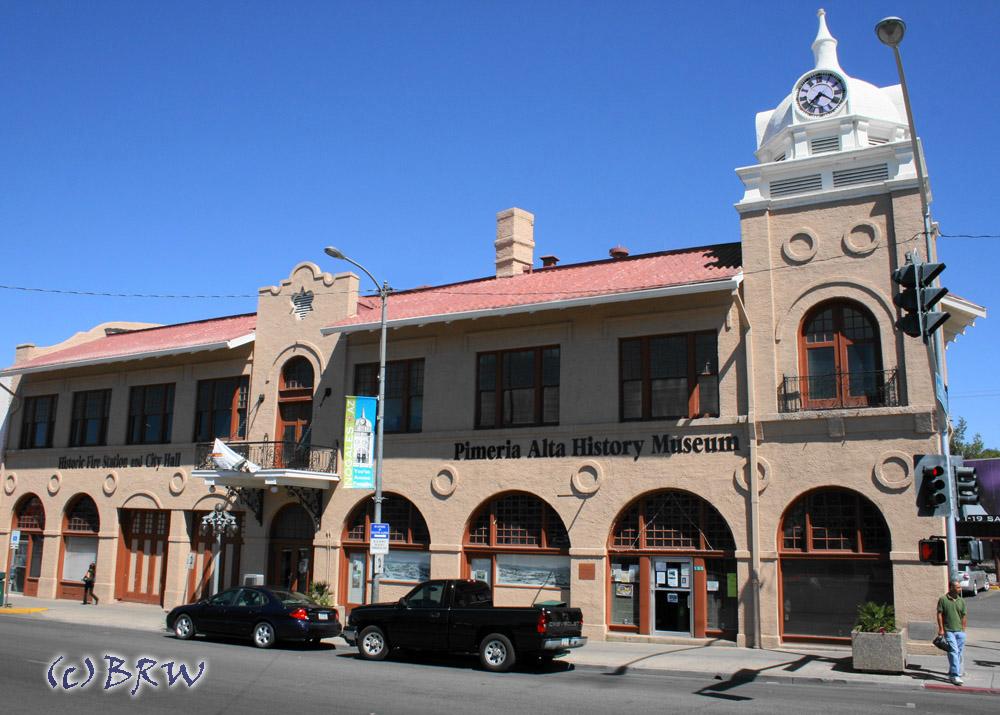 the pimeria alta history museum in nogales, az