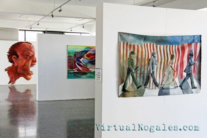 The Museo de Arte in Nogales, Mexico