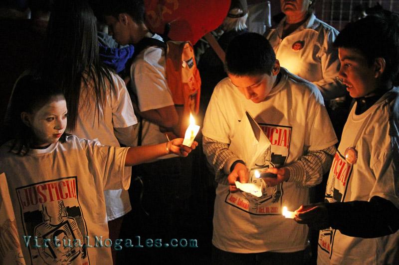 Nogales vigil for Jose Antonio Elena Rodriguez